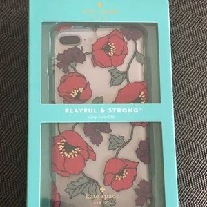 Kate Spade floral IPhone 8 Plus case